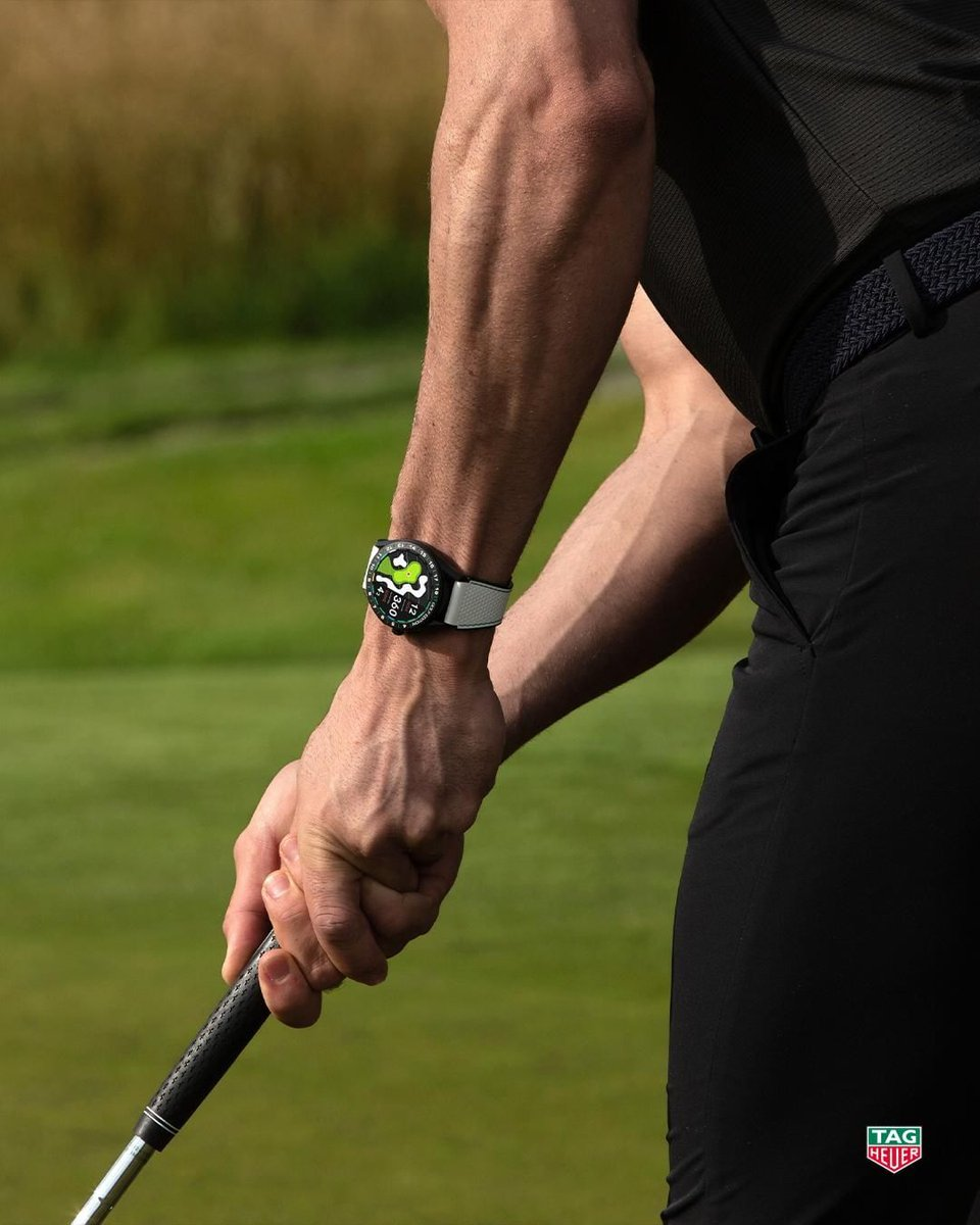 Tighten your grip: check. Tighten your focus: check. Tighten up your performance: the new #TAGHeuerConnected Golf Edition has got you covered. https://t.co/cummPnpES5  #DontCrackUnderPressure #TAGHeuerGolf https://t.co/TAf6EGL58u