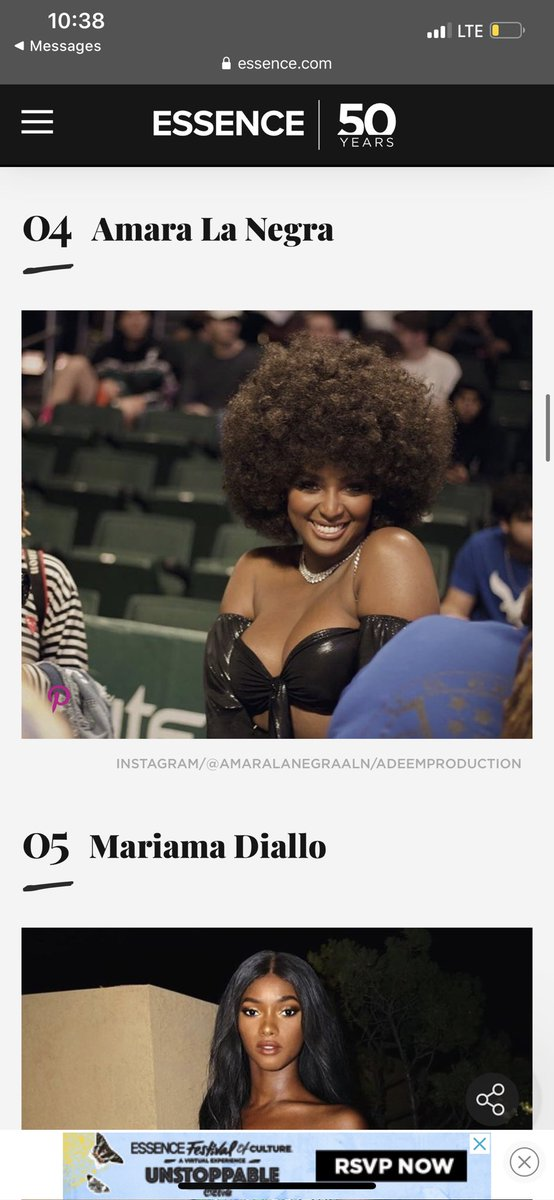 So ESSENCE magazine reposted my photo that was took of Amara La Negra on there page  <br>http://pic.twitter.com/yZsaJhpvkP
