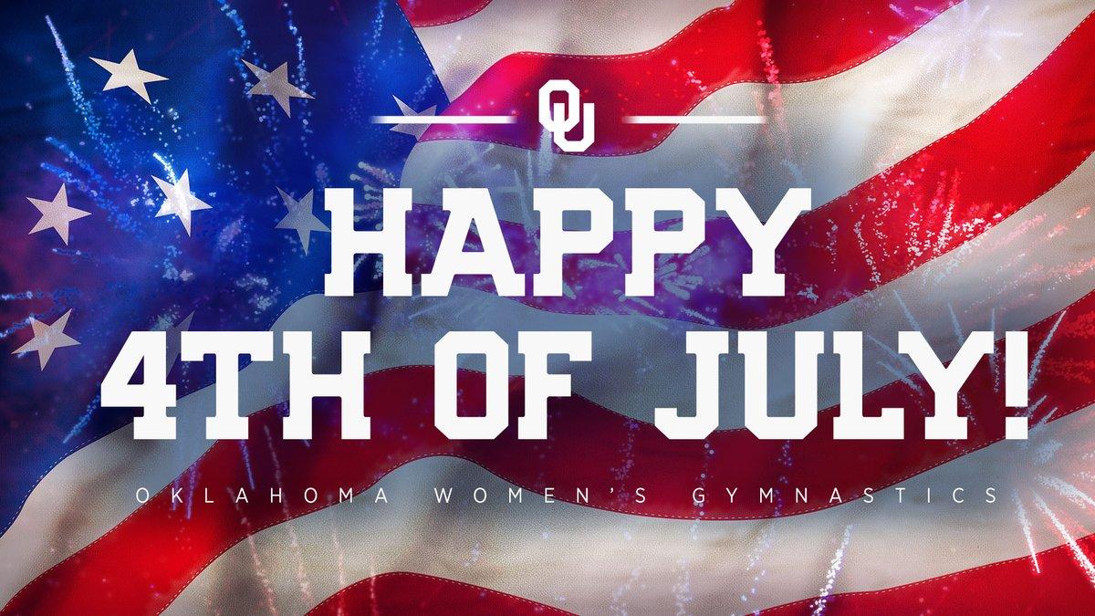 Happy #FourthofJuly, Sooner Nation!