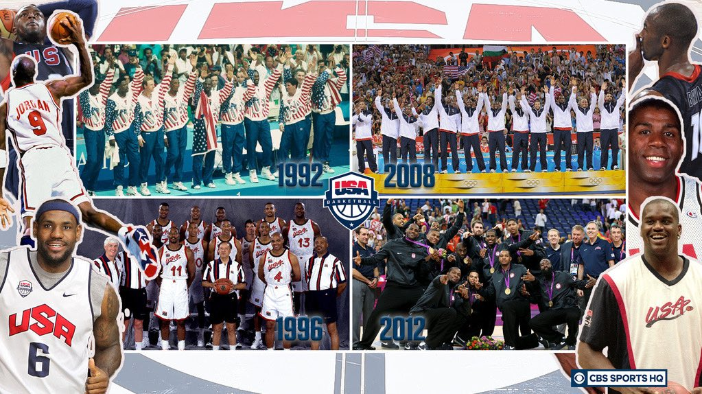 Gold medal on the line, which @usabasketball squad are you rolling with?