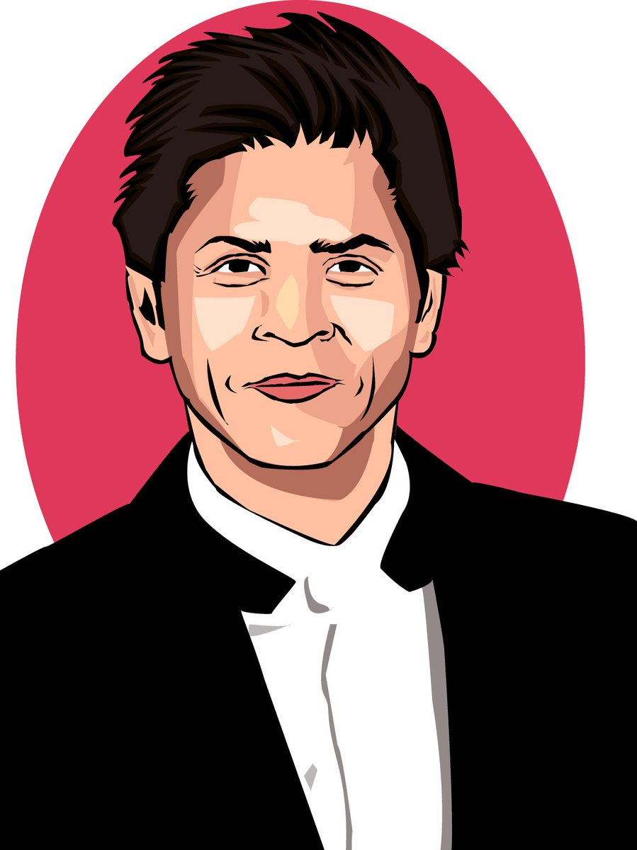 I have just completed my first portrait drawing. And this is dedicated to my inspiration SRK sir. Hope he will like it and say hi. @iamsrk #srk