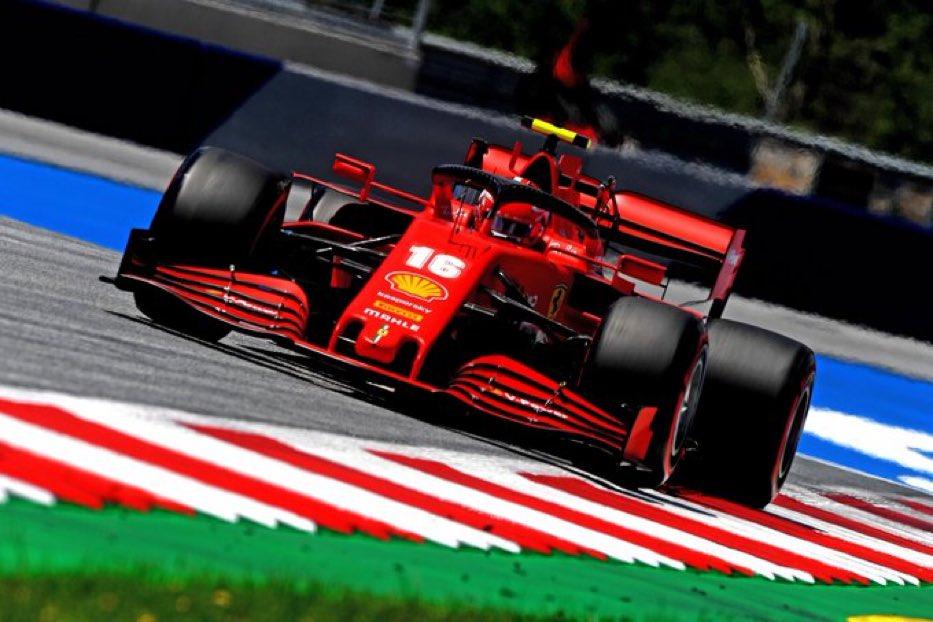 FIN DES QUALIFS 🏁   Charles fini P7 avec une voiture catastrophique..les amis la saison va être longue 😭   #F1 #F12020 #Formule1 #AustrianGP #Ferrari #Charles16 #Leclerc #CL16 https://t.co/8TxT7jovKs