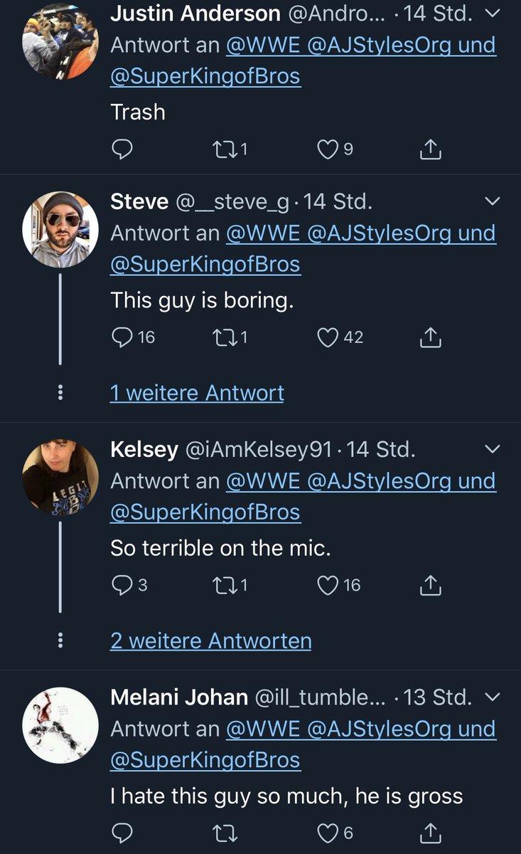 Wie kommt Matt Riddle eigentlich bei den Fans an? #SmackDown pic.twitter.com/KA4zwk3wCQ  by Tobias Enke