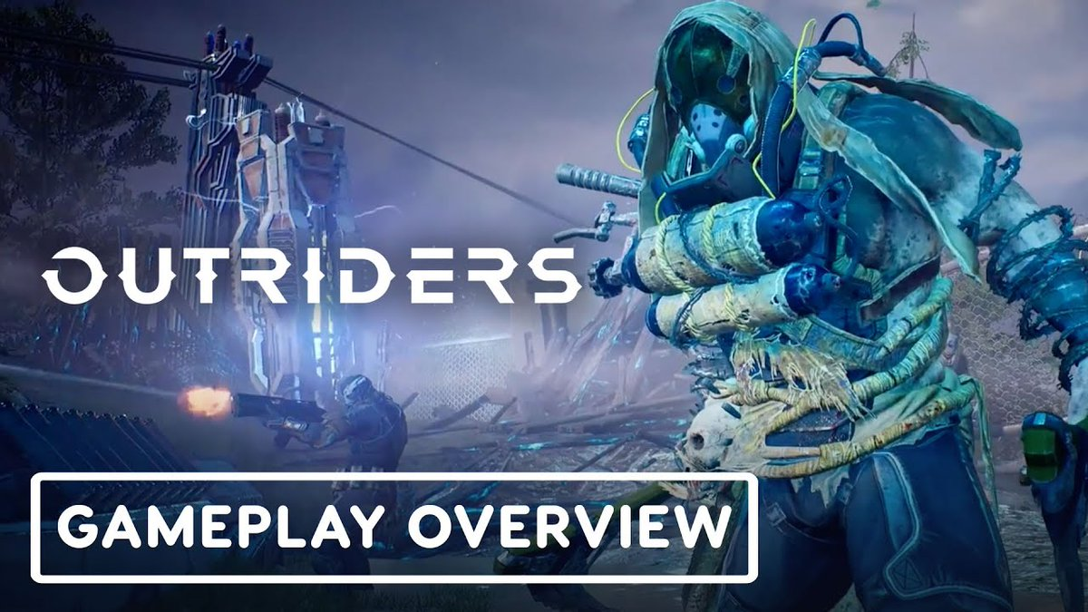 Outriders - Official Gameplay Overview ᴴᴰ https://youtu.be/urLu4WWju24 <-- Click Here ! __________________________________________________________ #outriders #peoplecanfly #NEWGAME  #gaming #GamingNews  #GamingLife #YouTuber #Youtubers #pcgaming #gamingchannel #gamespic.twitter.com/G4lpBEjTTJ