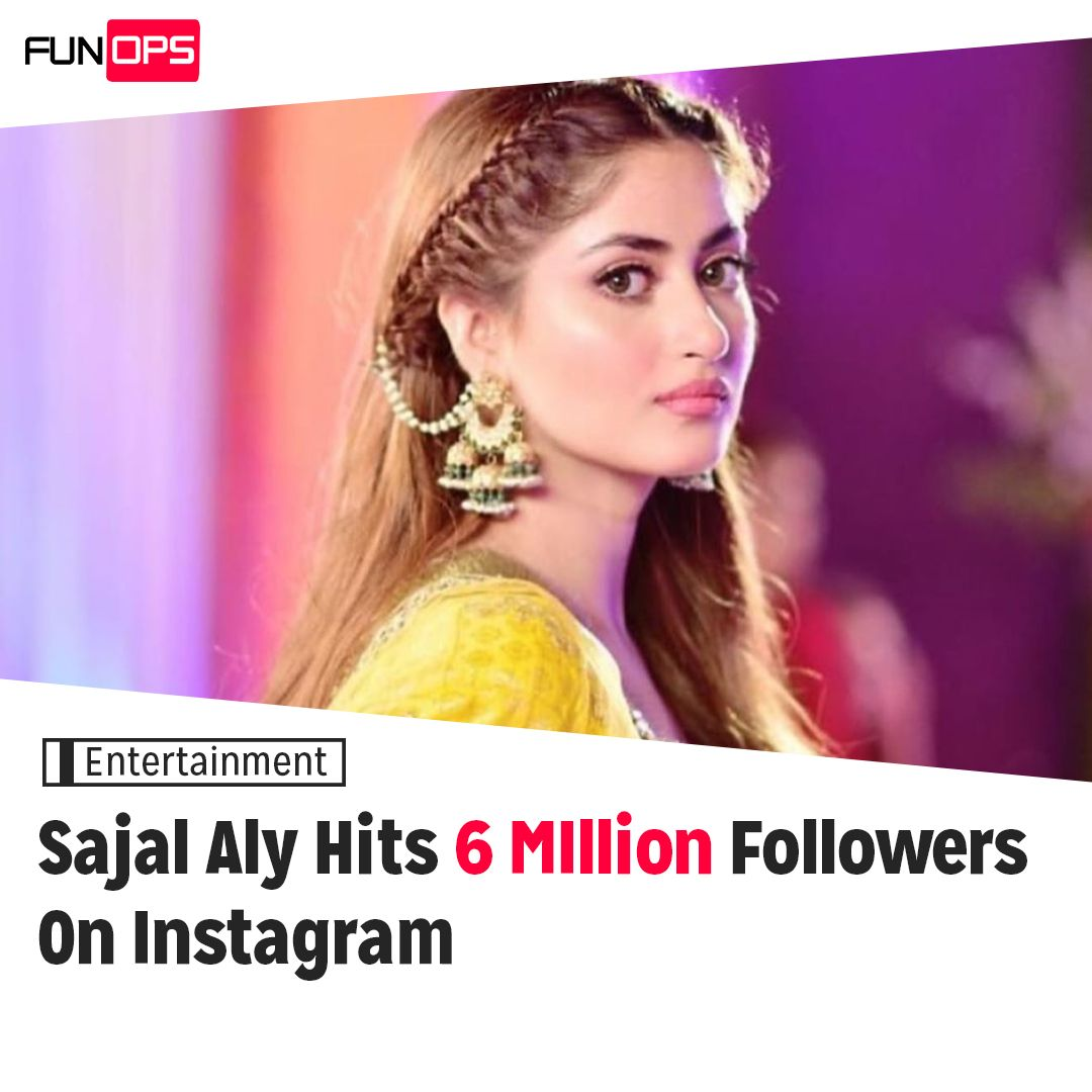 Sajal Ali has hit 6 million followers on Instagram The Alif actress joined the 6 million club of Pakistani celebrities on Saturday. . . . #funops #funopspakistan #celebrity #celebritystyle #beauty #instagood #instalove #pkkstanicelebs #hellomagazinepic.twitter.com/L8DbPzH0VG