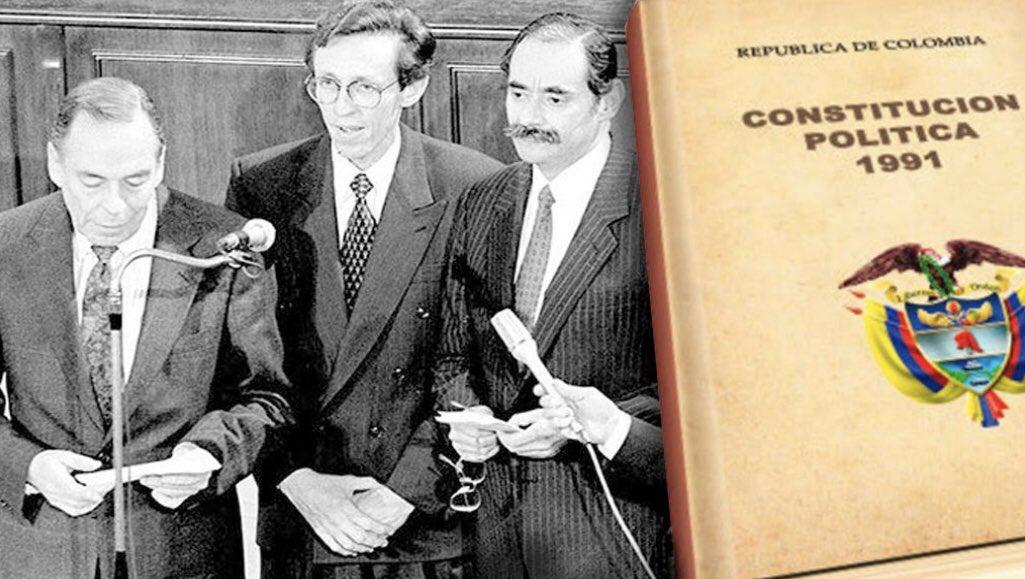29 años cumple de promulgada nuestra Constitución Política. Nunca olvidaré las 3 voces de sus pluralistas Presidentes anunciando al mundo su nacimiento. https://t.co/PgoSuJ1AdK