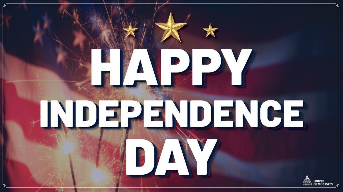 Today we celebrate our nation's independence. Let's remember that our freedom was hard-won, and that we have to continue working to ensure all of our fellow Americans have a chance to share in that freedom and achieve their American Dream. Happy #IndependenceDay to all 🇺🇸 🇺🇸 https://t.co/ng6Ni616CX