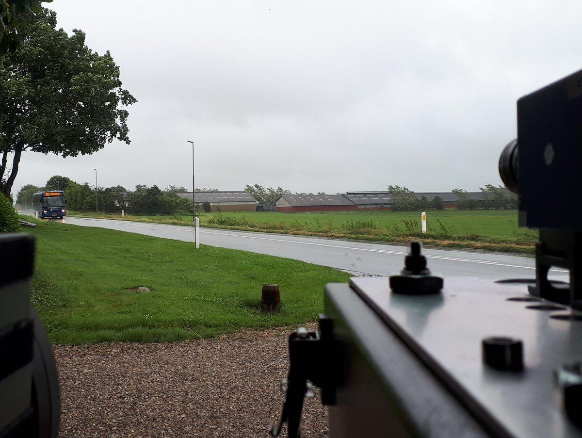 Atk målte i dag på Hjemstedvej ved Skærbæk, efter en borgerhenvendelse på https://t.co/U6aoXyj5Jg.  Resultatet af målingen blev 19 overtrædelser af hastighedsgrænsen på 60kmt  samt 1 klip. #atkdk #politidk https://t.co/Zd1HA1hPfT