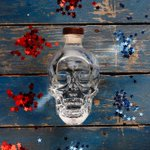 Image for the Tweet beginning: Red, white and booze 💙🇺🇸❤️  #CrystalHeadVodka