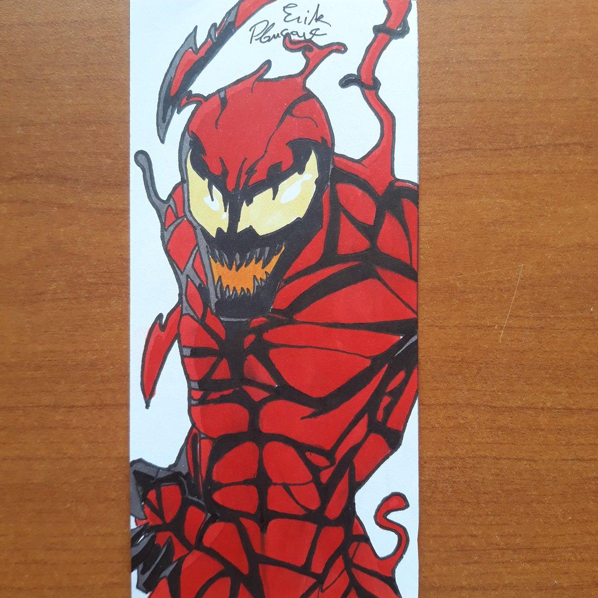 Carnage  #spiderman #symbiote #carnage #marvel #superhero #Fanart #Animestyle #anime #traditionaldrawing #draw #drawing #dessin #mangastyle #mangadraw #manga #mangaart #art #artdrawing #instart #originalart #artwork #artist #instaart #animeart #marvelvenompic.twitter.com/bwme62k4eM
