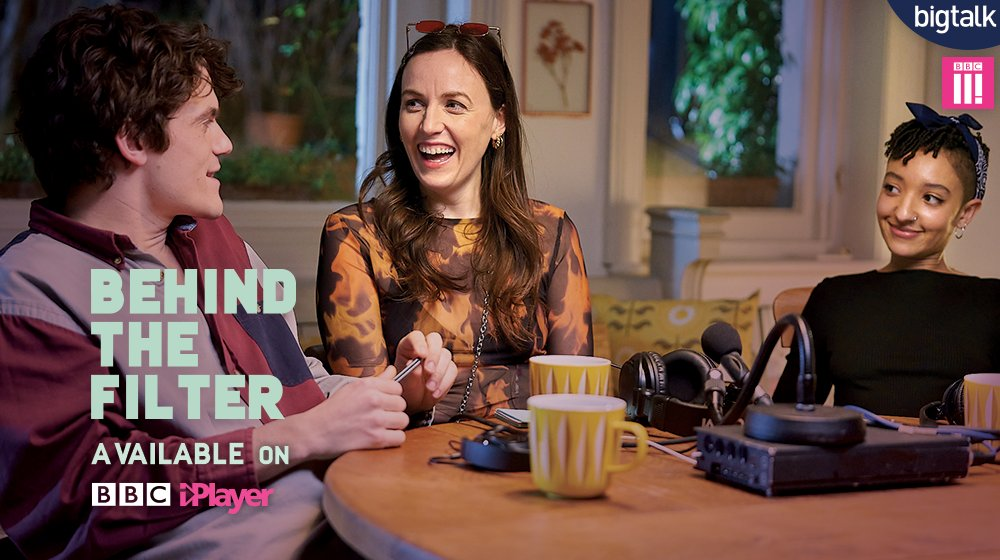 Brand new comedy Behind The Filter starring @phoebewalsh_  hit @BBCThree this week - watch it now on @BBCiPlayer:   @harrietgibsone @EllaJonesFilm @Trishallison @EdwardBluemel