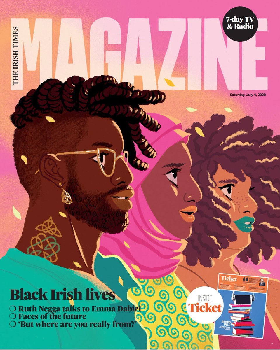 Get your special edition of #BlackIrishLives today