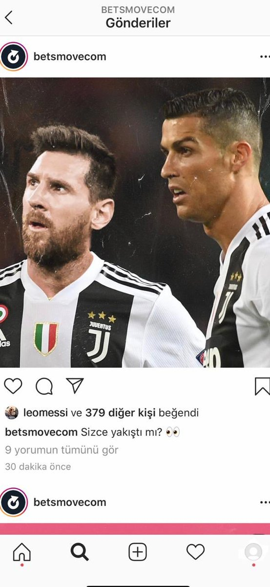 It's said that Messi liked this photo