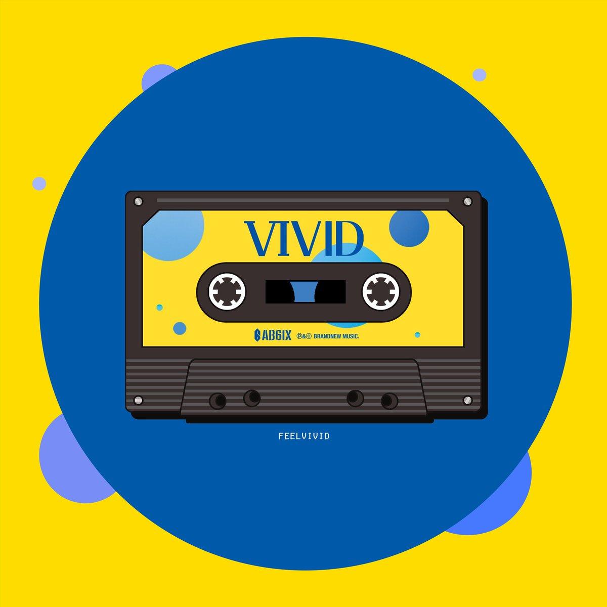 ab6ix's 2nd ep 'vivid' but as a cassette tape #AB6IX #VIVID<br>http://pic.twitter.com/TnRDplap2C