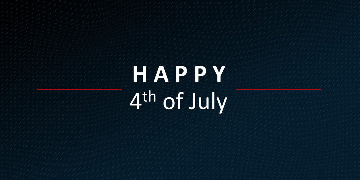 Wishing you and your loved ones a healthy and restful Fourth of July weekend https://t.co/v09L52DdbH