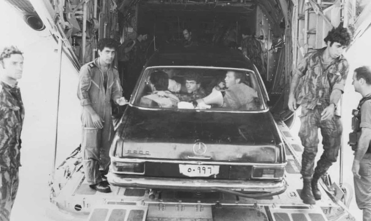 In the early morning hours of July 4th 1976, 4 x C-130s carrying a 200-man Israeli assault force touched down in Entebbe, Uganda… Does anyone know why? https://t.co/vRLRRRTP8i