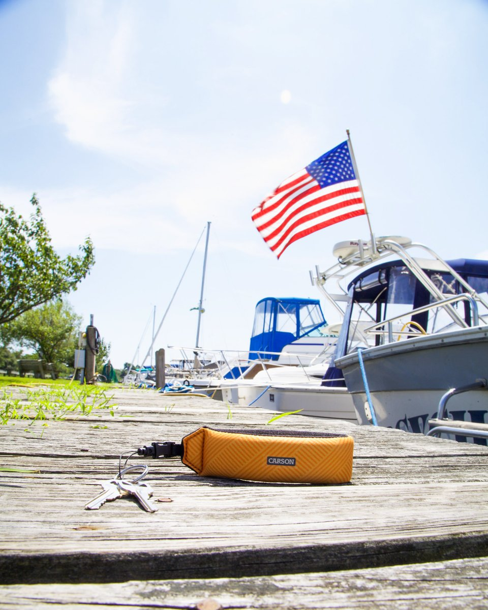 Happy Birthday America! We've got our floating wrist strap ready for our weekend on the water. Carson's FA-20 Floating Wriststrap™ protects our belongings while we kick back & relax! https://t.co/Vc0pss37uB #watersport  #fishinglife #fishing #outdoorsy #kayaks #waterski https://t.co/2huIq4Qj3Z