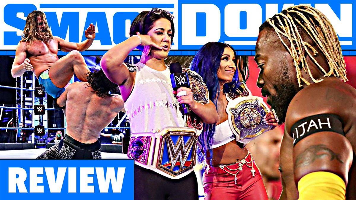 #SmackDown Review heute mal mit einem besonderen Aufnahmepartner, ich habe mir den guten @ThumbtackJack geschnappt!  Ausgabe jetzt schon auf Patreon: http://patreon.com/posts/38957995 Auf YouTube dann um 19 Uhr!pic.twitter.com/k4mGplLm6c  by Chris