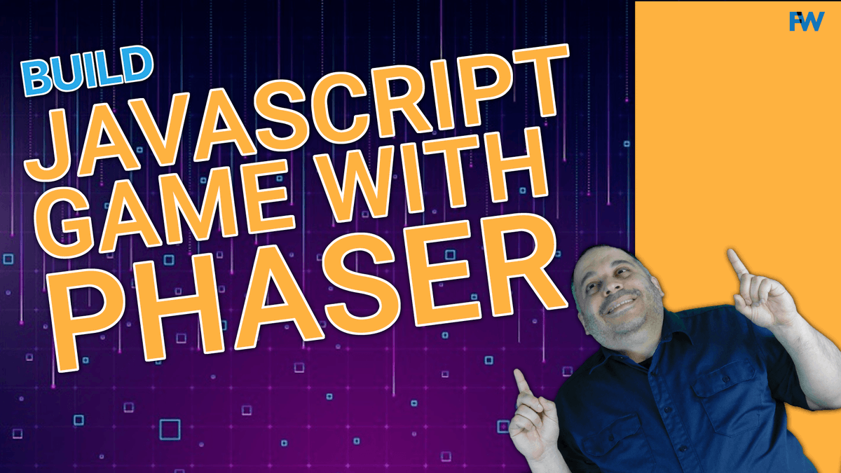 Want to build games with #JavaScript and the @phaser_ library? Join me for this tutorial where we great a simple target shooting game. #learntocode #100daysofcode http://youtu.be/7UyO7wz3VlYpic.twitter.com/E5aur5DJWy