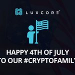 Image for the Tweet beginning: Happy 4th of july! $lux