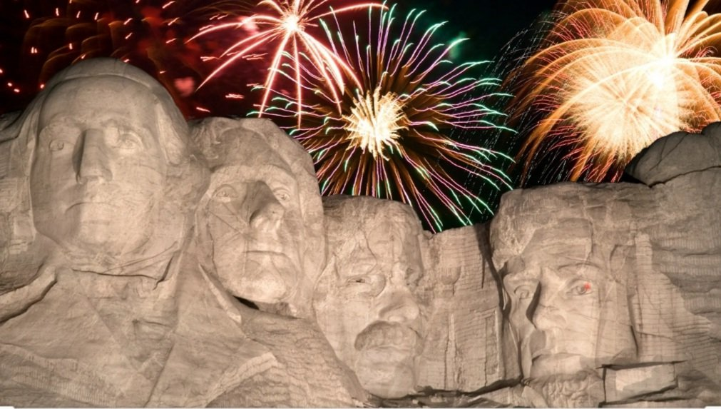 Americas tumultuous 2020 was brightened up when the 45th President of the United States gave the best speech of his Presidency against backdrop of Mount Rushmore and fireworks. Thank you and Happy 4th of July, @realDonaldTrump. We needed that... #FourthofJuly2020 #July4th2020