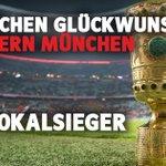 Image for the Tweet beginning: Zum 20. Mal Deutscher Pokalsieger!