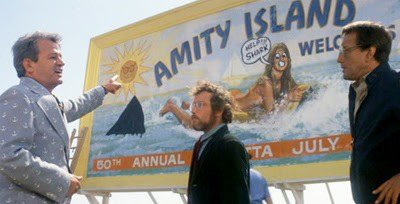I'm watching Jaws; It's my 4th of July tradition. And it feels very relevant today. Shark = COVID.