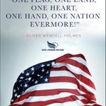 Image for the Tweet beginning: One nation evermore!