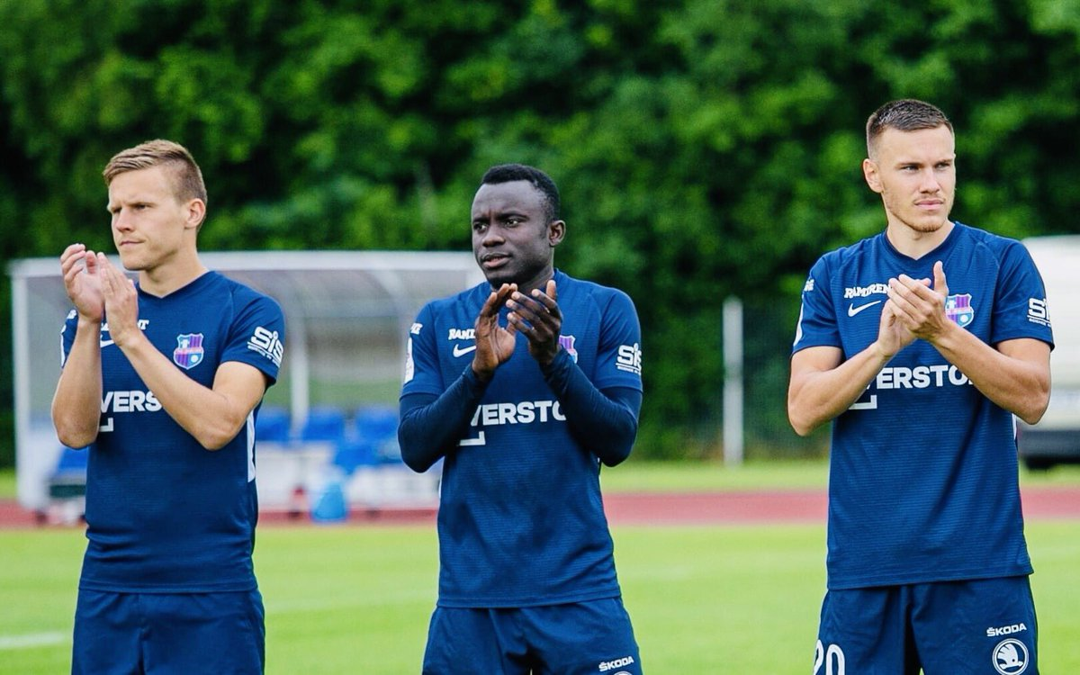 Congratulations to everyone at Paide Linnameeskond including #ModousticSportsPR's Muhammed Sanneh on securing their first-ever qualification to Europe where they've a place in the 1st qualifying round of the 2020/21 UEFA Europa League. #UEL #UEFA #EuropaLeague #Estonia #Gambia https://t.co/fv461jFJNL