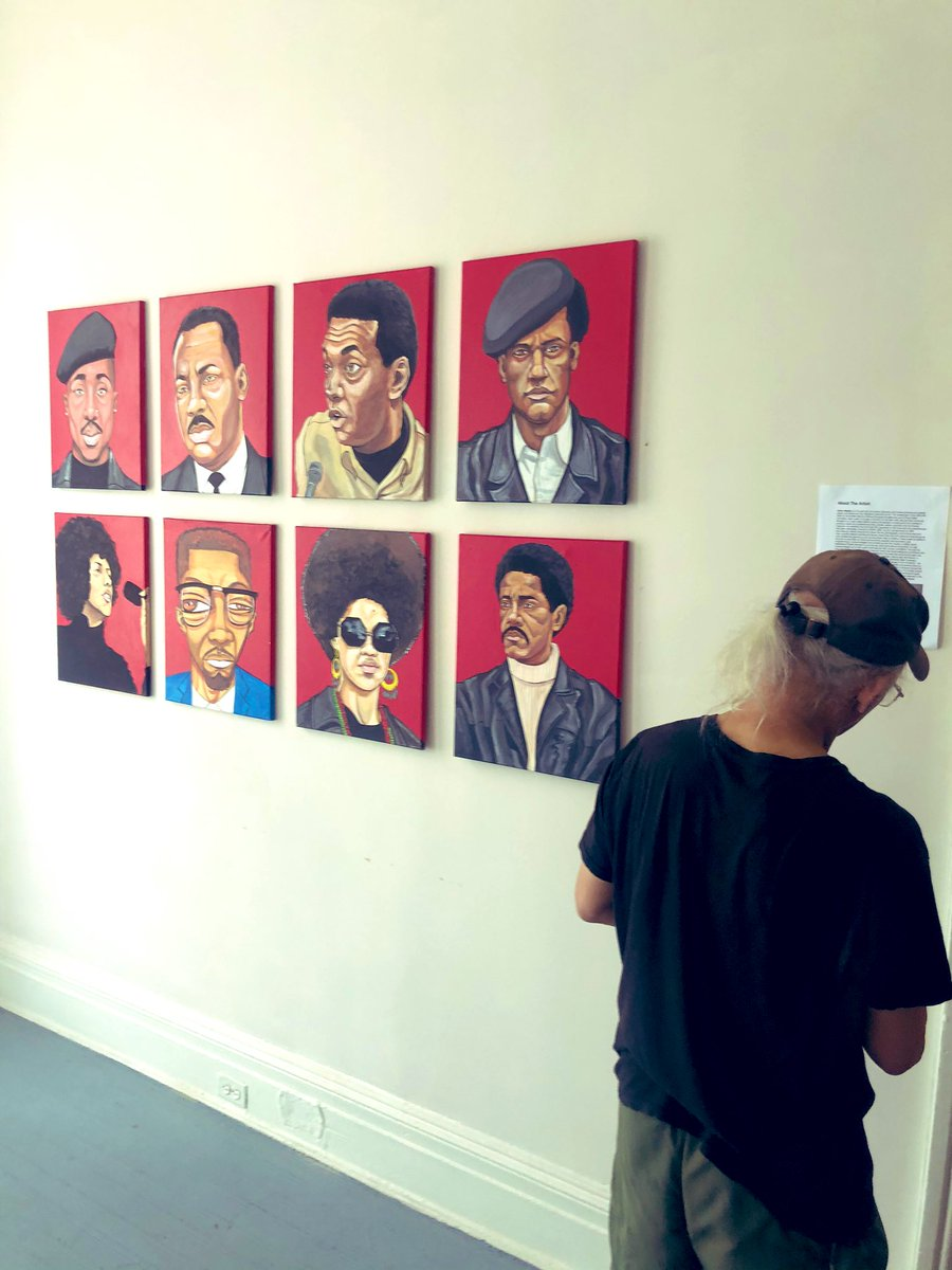 Spent this morning setting up my new art showcase for this summer. More details coming soon. Bringing a new format and framework for the gallery experience in this time of social distancing.  Showings by appointment with limited attendance and spacing for each time slot. #MyBmore https://t.co/tZ2eeARR1Z