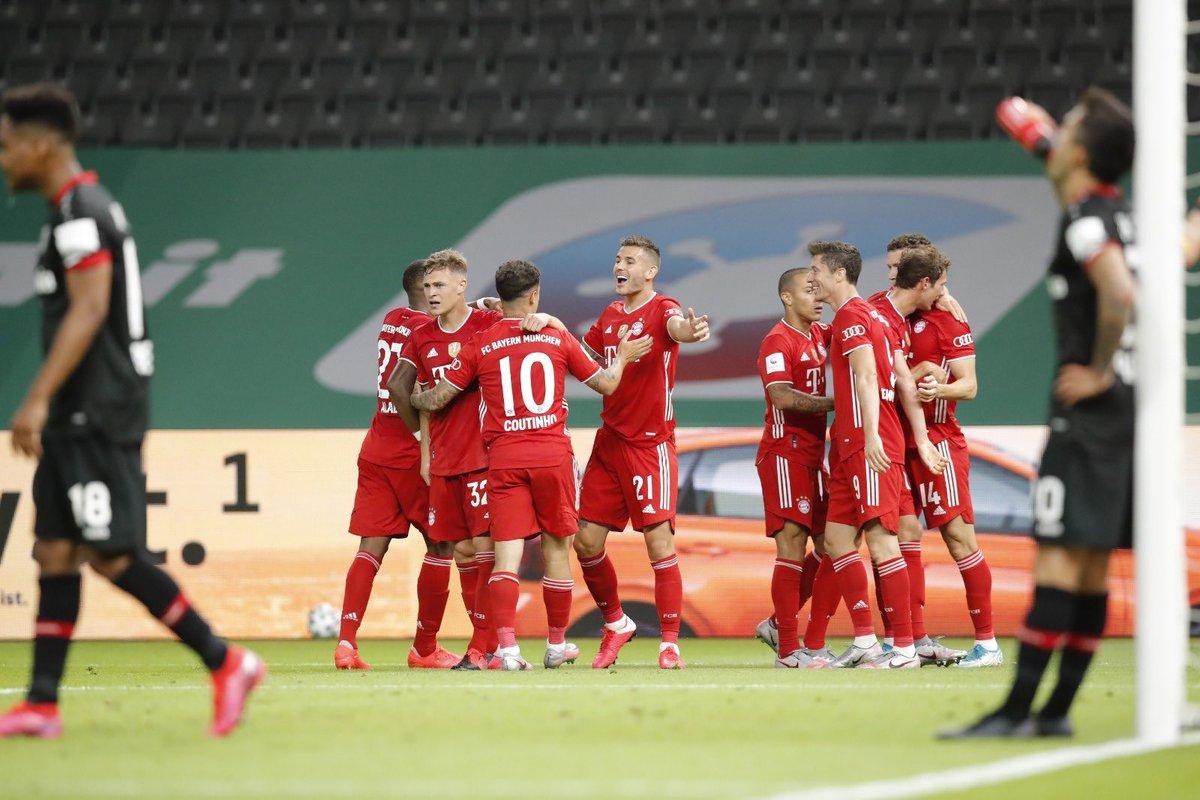 Xem lại bóng đá Leverkusen vs Bayern Munich, Cúp QG Đức – 5/7/2020