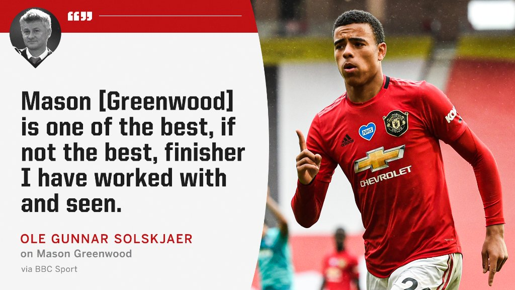 The highest of praise for Mason Greenwood 🤩 https://t.co/2CRLXQ8qbn