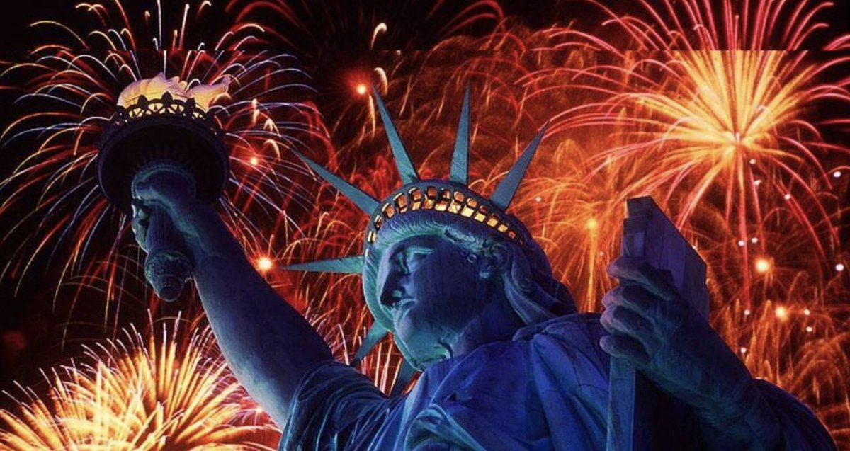 Happy 4th of July: Honor to all First Responders, Military past & present, and the People of America who enjoy the rights & privileges of THE FIRST AMENDMENT of the Constitution to Peacefully Protest and Free Speech.