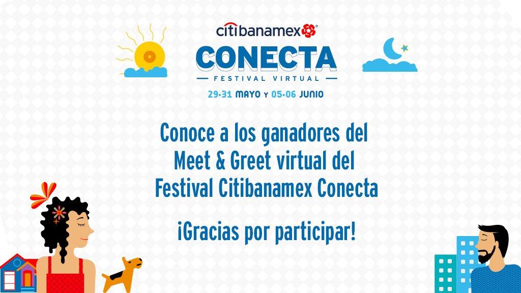 Esta fue la increíble experiencia que vivieron nuestros ganadores del Meet & Greet virtual del Festival #CitibanamexConecta. ¡Gracias a todos por participar! https://t.co/qjt6MOOHgK