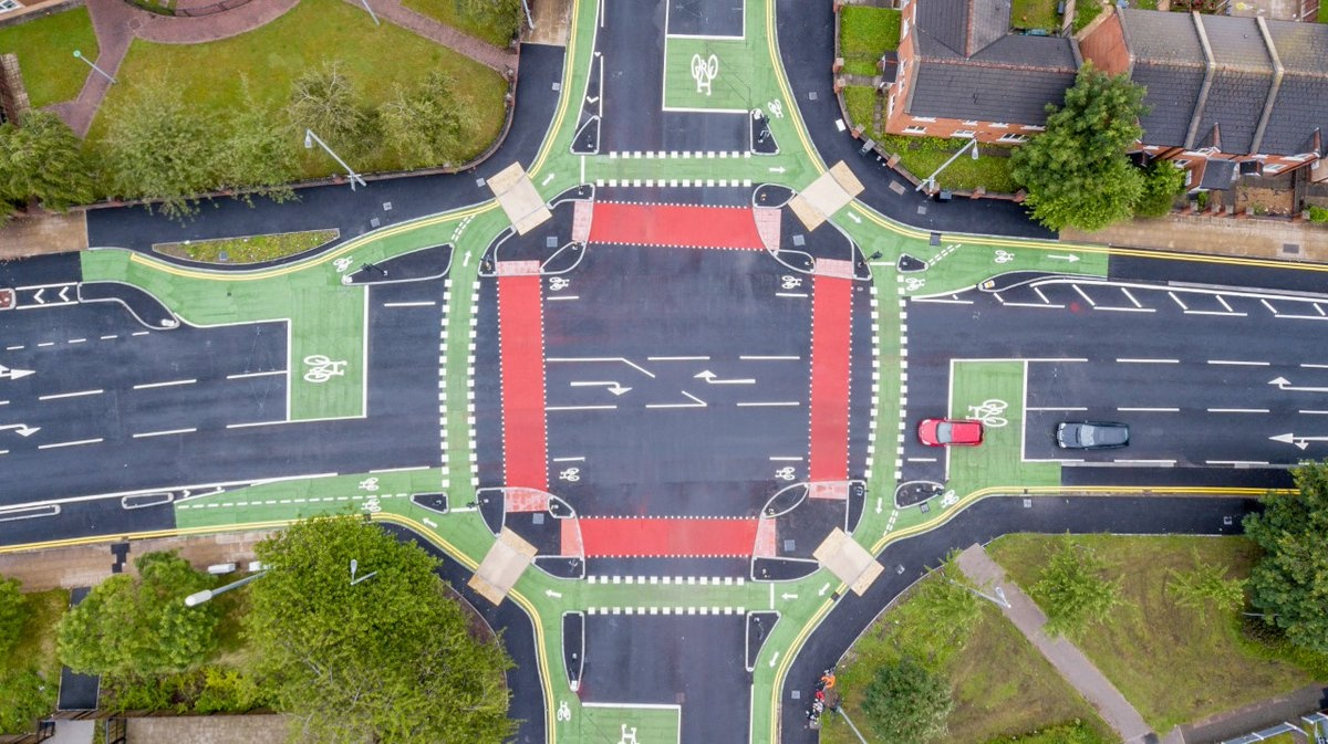 The first section of the Manchester to Chorlton Cycleway is now open, and features segregated cycleways and the CYCLOPS junction at Royce Road, a first-of-its-kind cycle junction in the UK. Watch our short film to learn how this fantastic facility works orlo.uk/h86qM