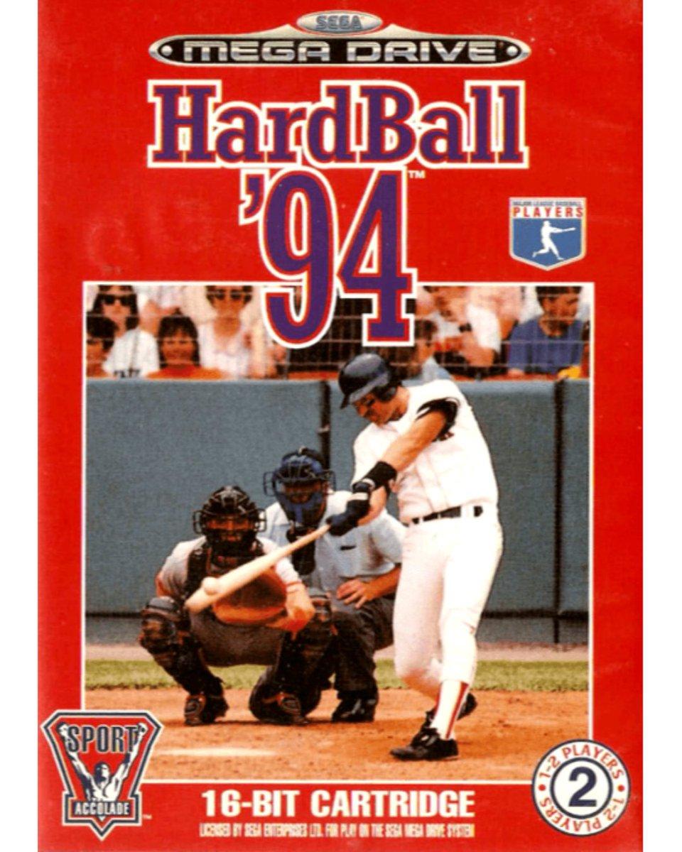 HardBall '94 (Mega Drive)   #Sega #Genesis #MegaDrive #SegaMegaDrive #HardBall94 #HardBall #Baseball  #GreatGameCovers #VideoGames #RetroGaming #RetroGames #RetroCollective #Gaming #Gamerspic.twitter.com/ByuuB3vWjp