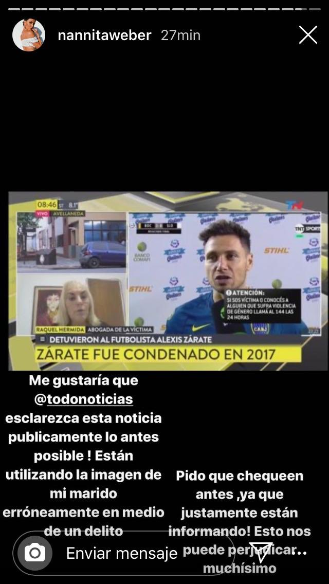 Me parece que @todonoticias se equivocó de Zárate. https://t.co/FmjgGAgOpb