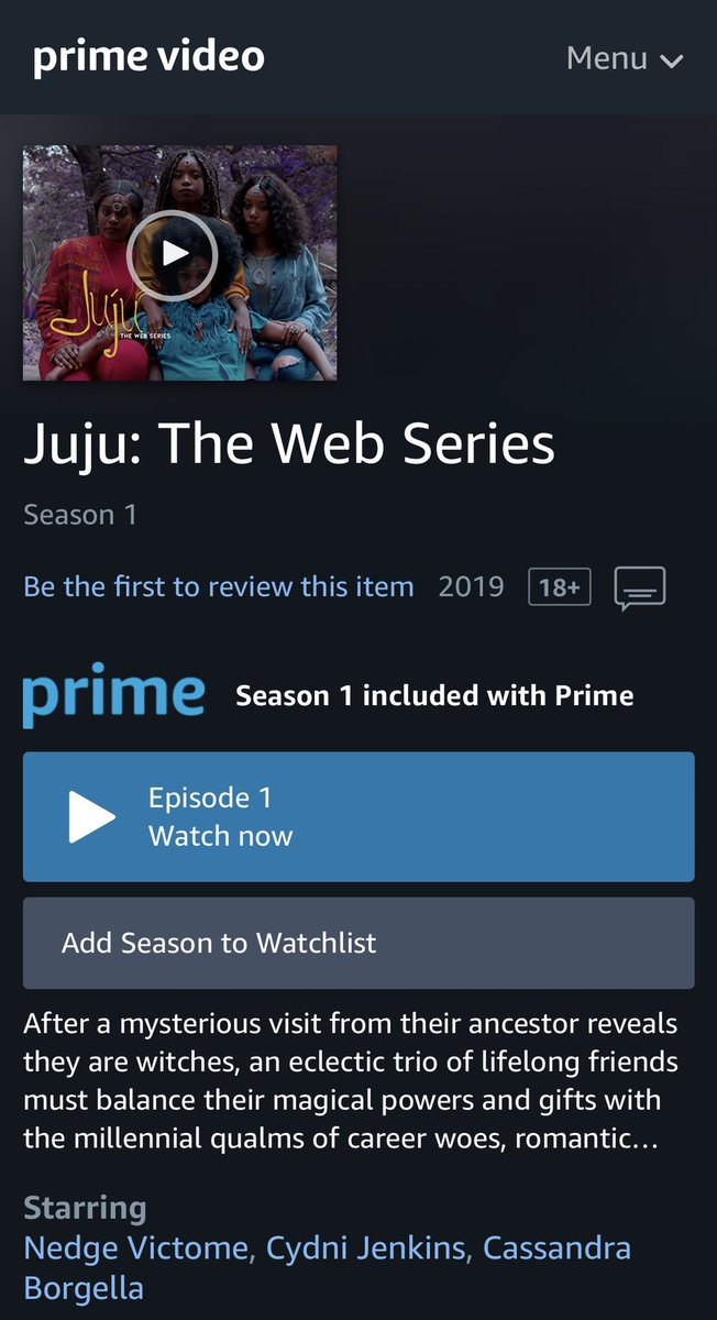 We are officially on Amazon Prime. Tell a friend!  <br>http://pic.twitter.com/F1dldSVagw