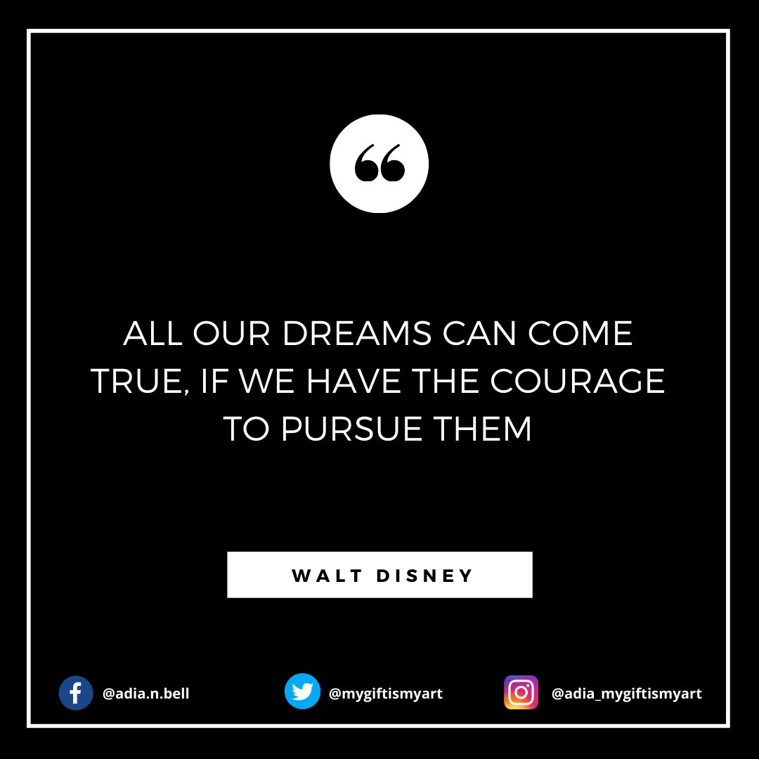 All our dreams can come true, if we have the courage to pursue them . . . #entrepreneurlife #follow #motivated #successful #believe #quotestoliveby #motivationquotes #motivations #successmindsetpic.twitter.com/pZVxYHGjLB