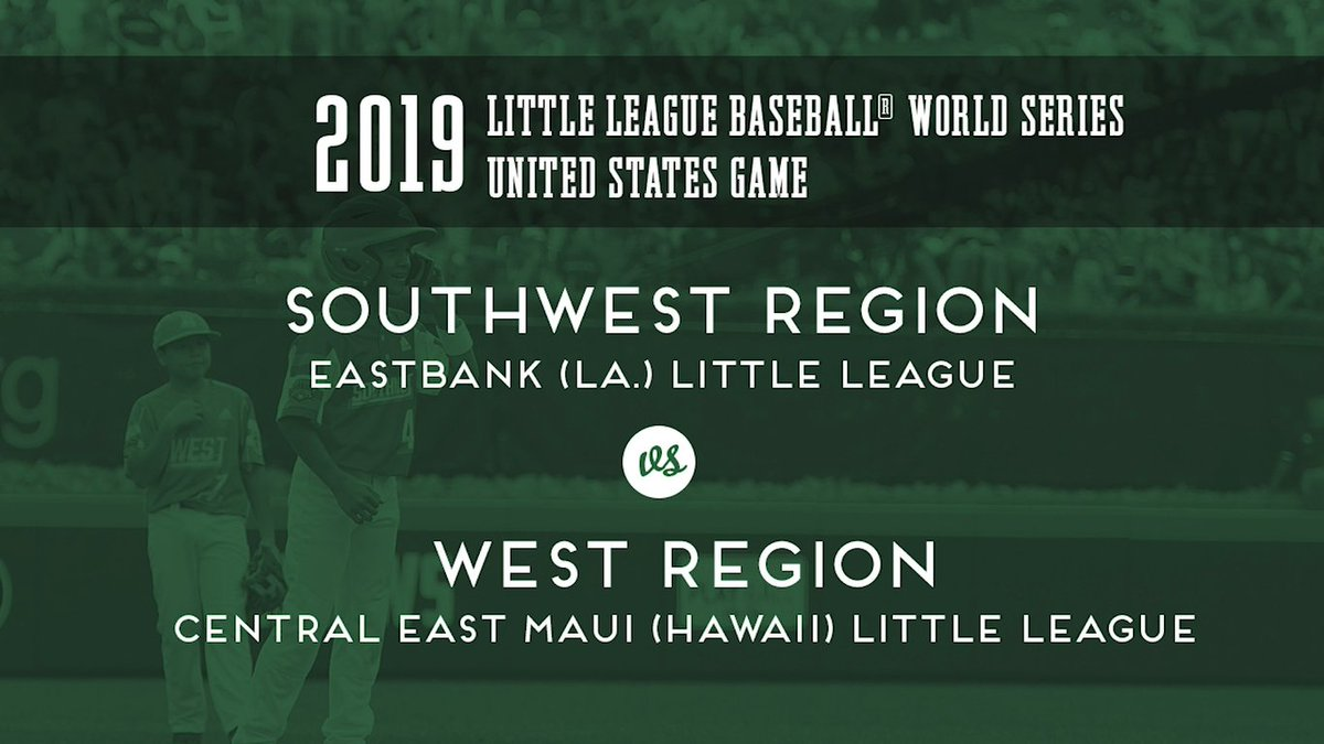 Happy #July4th🇺🇸! Heres the 2019 United States Championship between Louisiana and Hawaii! ltllg.org/FiCh50ApCMQ
