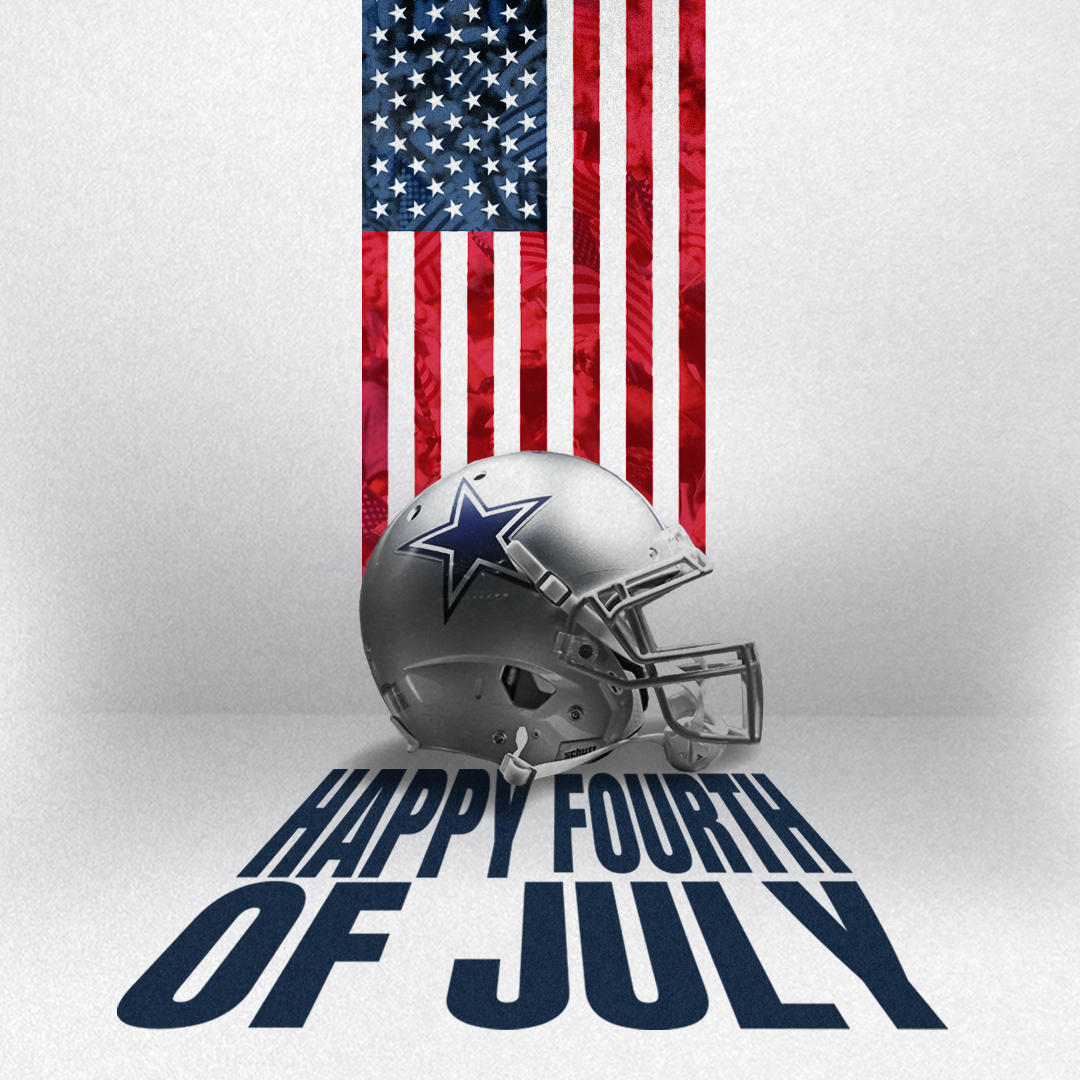 #CowboysNation, Happy #FourthofJuly 🇺🇸 https://t.co/MqgymWFuog