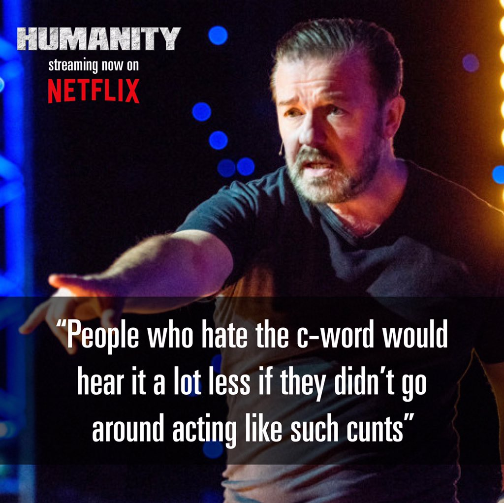 Ricky Gervais (@rickygervais) on Twitter photo 04/07/2020 16:12:28