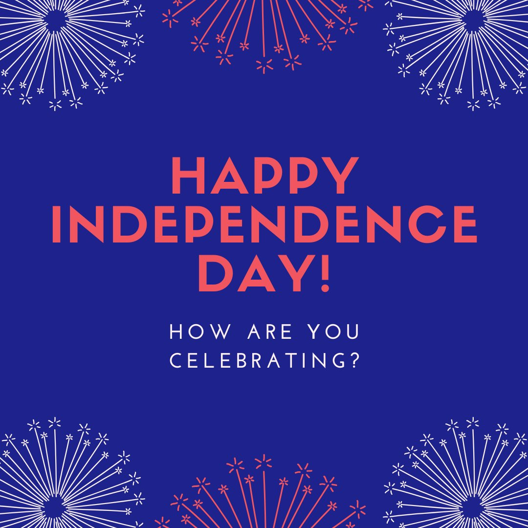How are you spending this Independence Day? https://t.co/ZygBG1qdw7
