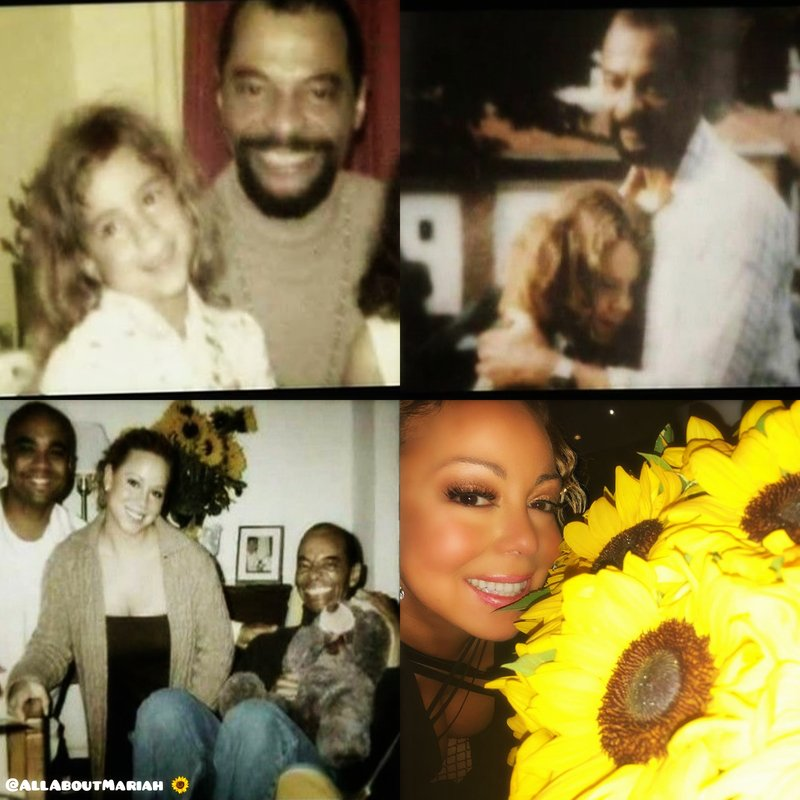 """""""He (Mariah's father) said, 'You were always a star in my eyes.' Which was very meaningful, because to a lot of people you're really not worth anything unless you're raking in the dough and having No. 1 hits."""" @MariahCarey ❤  #SunflowersForAlfredRoy 🌻 #FourthOfJuly #L4L 🦋🇺🇸"""