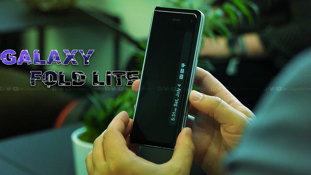#GalaxyFold Lite is INDEED HAPPENING!!! New video: https://youtu.be/gs7lq0oV2mY  #GalaxyNote20 #Samsung #galaxyfold2 #leaks #foldpic.twitter.com/6mg0mKq3K6