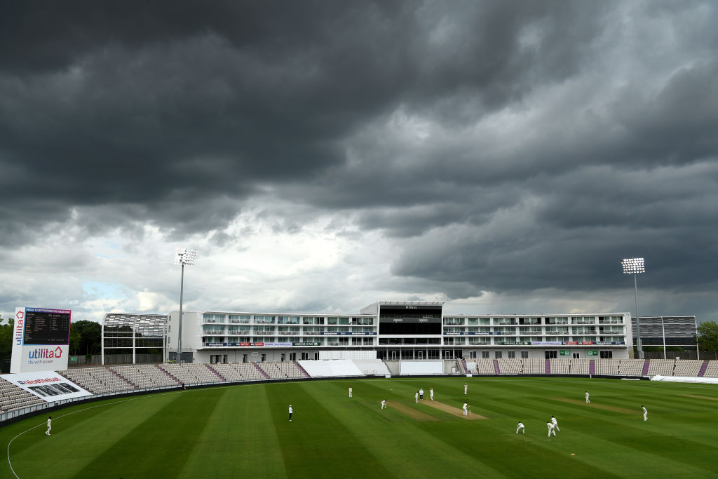 The silver lining? International cricket will be back next week 🌤️