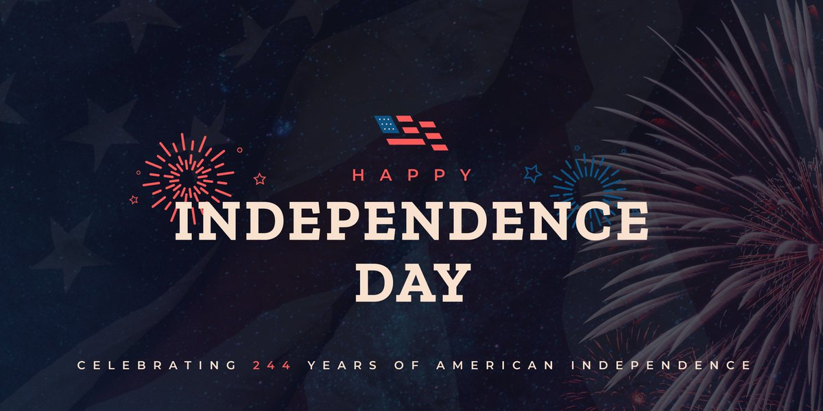 Happy Independence Day! Today, we celebrate Americas founding and express gratitude for our freedoms and opportunities! 🇺🇸🦅