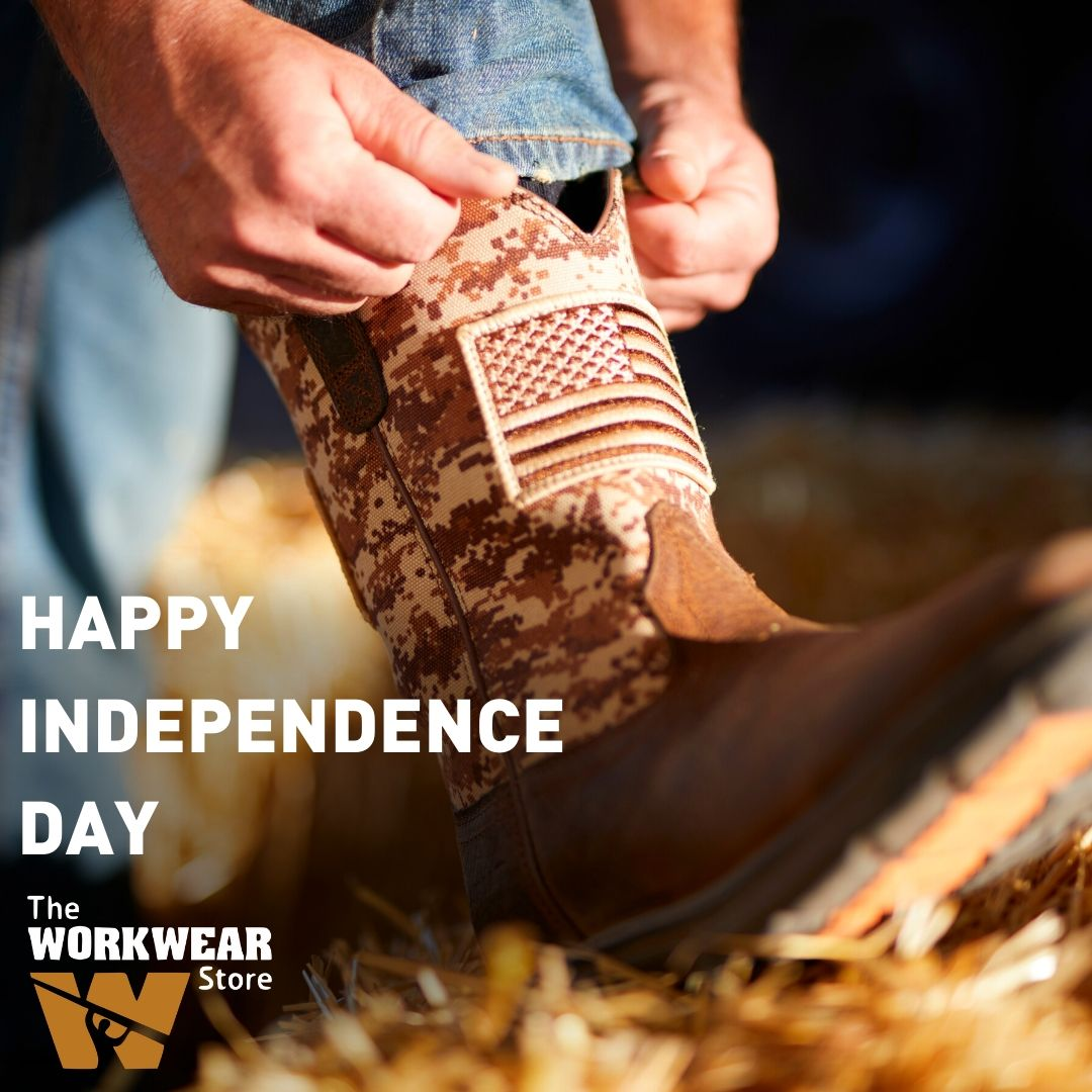 Happy 4th of July from everyone here at The Workwear Store!  #goworkwearpic.twitter.com/Zwb2tkS7WB