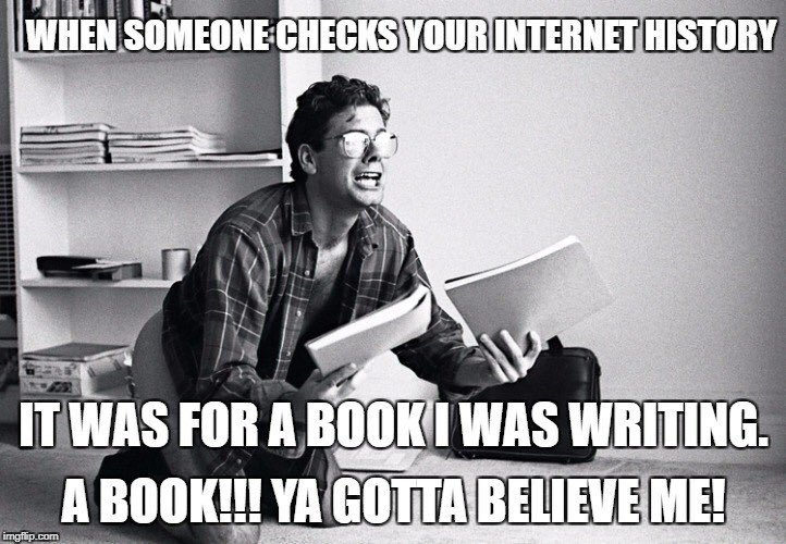 Who else can relate to this😂?! #writerslife #amwriting