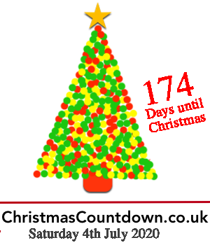 4th July 2020, 174 days to go! For all the latest #Christmas news, planning tips and #competitions see
